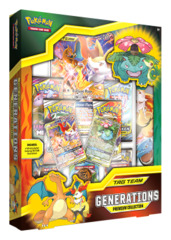 Pokemon TCG: TAG TEAM Generations Premium Collection (Charizard & Braixen-GX)