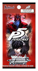 Persona 5 (English) Weiss Schwarz Booster Pack * PRE-ORDER Ships Feb.16, 2018