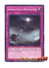 Armageddon Designator - JOTL-EN080 - Common - Unlimited Edition
