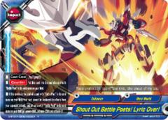 Shout Out Battle Poets! Lyric Over! [D-BT01A-EB02/0033EN R (FOIL)] English
