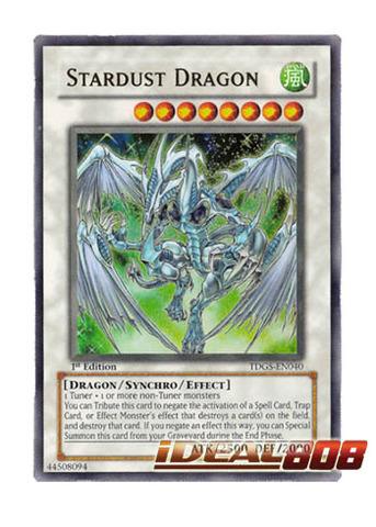 Stardust Dragon - TDGS-EN040 - Ultra Rare - 1st Edition