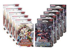 Yugioh Arc V Starter Deck Box (5 Saber Force, 5 Dark Legion)