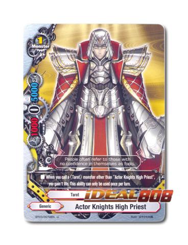Actor Knights High Priest - BT03/0072EN (U) Uncommon