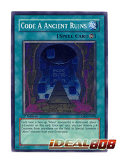 Code A Ancient Ruins - CRMS-EN088 - Super Rare - Unlimited Edition