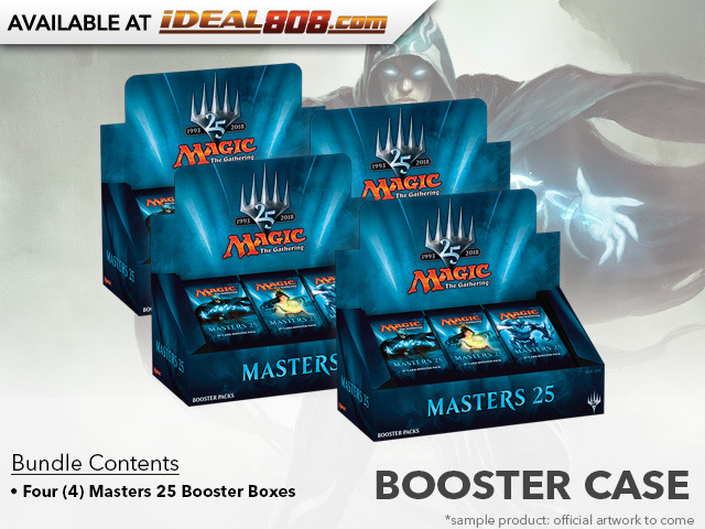 Masters 25 (M25) Booster  Case (4 Boxes)