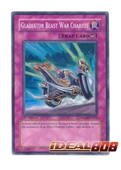 Gladiator Beast War Chariot - TDGS-EN074 - Super Rare - Unlimited Edition