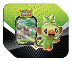Pokemon TCG: Galar Partners Tin (2020) - Grookey | Rillaboom V