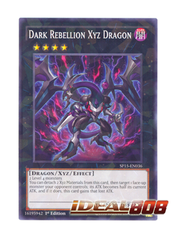 Dark Rebellion Xyz Dragon - SP15-EN036 - Shatterfoil - 1st Edition