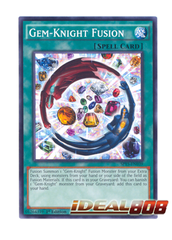Gem-Knight Fusion - SP15-EN039 - Shatterfoil - 1st Edition