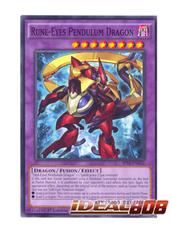 Rune-Eyes Pendulum Dragon - SP15-EN032 - Shatterfoil - 1st Edition