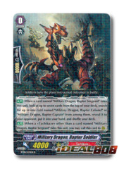 Military Dragon, Raptor Soldier - BT08/034EN - R