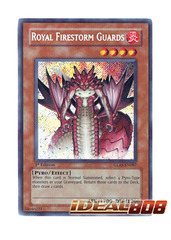Royal Firestorm Guards - GLAS-EN087 - Secret Rare - 1st Edition