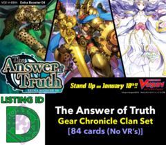 # The Answer of Truth [V-EB04 ID (D)]