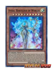 Avida, Rebuilder of Worlds - RIRA-EN027 - Super Rare - Unlimited Edition