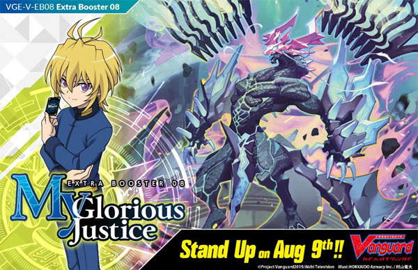 CFV-V-EB08  BUNDLE (C) Gold - Get x8 My Glorious Justice CFV Booster Box + FREE Bonus Items