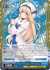 Kind Acolyte, Priestess [GBS/S63-E061 RR (Mosaic Gloss)] English