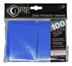 Ultra Pro Matte Eclipse Standard Sleeves 100ct - Pacific Blue [#85602]