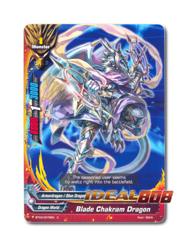 Blade Chakram Dragon - BT03/0079EN (C) Common