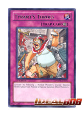 Tyrant's Throes - PHSW-EN076 - Rare - Unlimited Edition