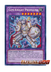 Gem-Knight Prismaura - HA06-EN020 - Secret Rare - Unlimited Edition