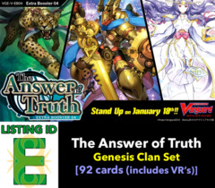 # The Answer of Truth [V-EB04 ID (E)]