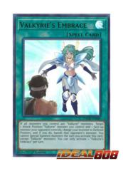 Valkyrie's Embrace - DANE-EN089 - Ultra Rare - 1st Edition