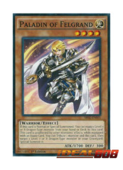 Paladin of Felgrand - SR02-EN003 - Common - 1st Edition