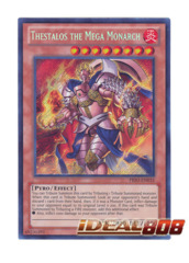 Thestalos the Mega Monarch - PRIO-EN035 - Secret Rare - Unlimited Edition
