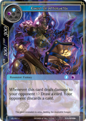 Ghost of Attoractia [LEL-057 U (Foil)] English
