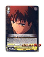 Confronting a Servant, Shirou [FS/S34-E013 U] English Uncommon