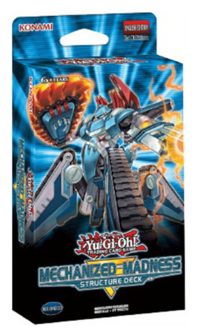 Mechanized Madness (1st Edition) Yugioh Structure Deck