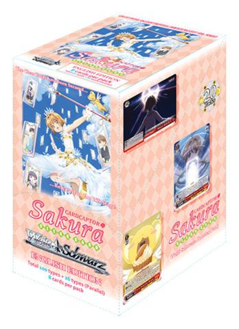 Card Captor Sakura: Clear Card (English) Weiss Schwarz Booster Box