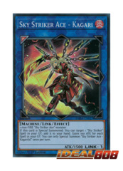 Sky Striker Ace - Kagari - DASA-EN027 - Super Rare - 1st Edition