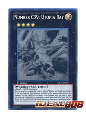 Number C39: Utopia Ray - ORCS-EN040 - Ghost Rare - Unlimited Edition