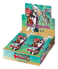 CFV-G-BT05 Moonlit Dragonfang (English) Cardfight Vanguard G-Booster Box