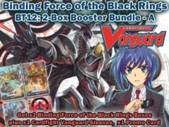 Cardfight Vanguard BT12 Bundle (A) - Get x2 Binding Force of the Black Rings Booster Box + Cf-Vanguard Sleeves
