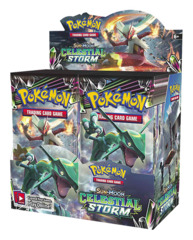 SM Sun & Moon - Celestial Storm (SM07) Pokemon Booster Box [36 Packs]