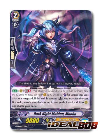 Dark Night Maiden, Macha - G-LD01/005EN - TD