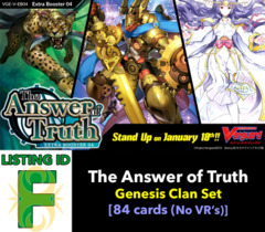 # The Answer of Truth [V-EB04 ID (F)]