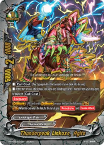 Thunderpeak Linkaxe, Agito [S-BT04/0074EN Secret (FOIL)] English