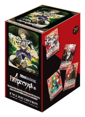 Fate/Apocrypha (English) Weiss Schwarz Booster Box