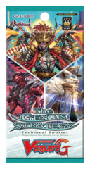 CFV-G-TCB02 The GENIUS STRATEGY (English) Cardfight Vanguard G-Technical Booster Pack