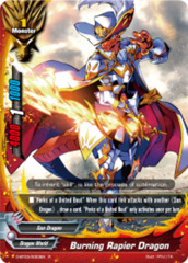 Burning Rapier Dragon [D-BT03/0023EN R (FOIL)] English