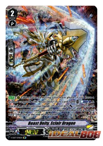 Beast Deity, Eclair Dragon - V-EB07/SP08EN - SP (Special Parallel)