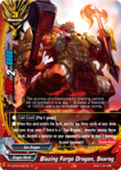 Blazing Forge Dragon, Svarog [D-BT02/0021EN R (FOIL)] English