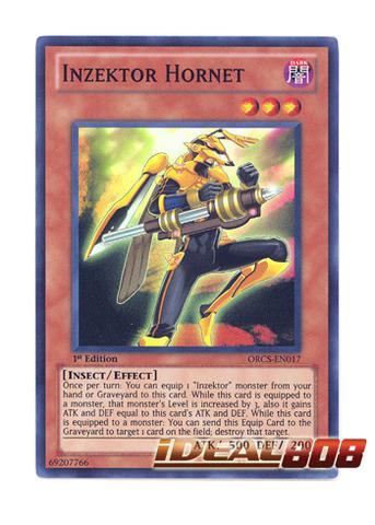 Inzektor Hornet - ORCS-EN017 - Super Rare - Unlimited Edition