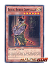 Shien/'s Chancellor sdwa-en011 1st Ed MINT 3 x Enishi Common Yu-Gi-Oh!