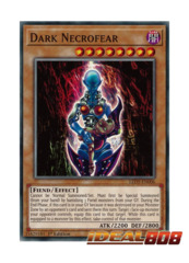 Dark Necrofear - LED5-EN006 - Common - 1st Edition
