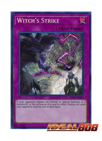 Witch's Strike - SAST-EN079 - Secret Rare - Unlimited Edition