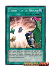 Harpies' Hunting Ground - AP02-EN010 - Super Rare - Unlimited